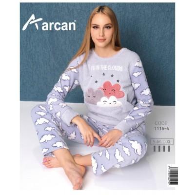 1115-4 Теплая пижама женская ARCAN