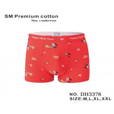 3378 Трусы Мужские SM Premium Cotton