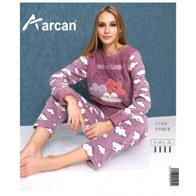 1115-3 Теплая пижама женская ARCAN
