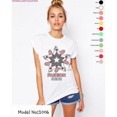 2100 Женская футболка Турция