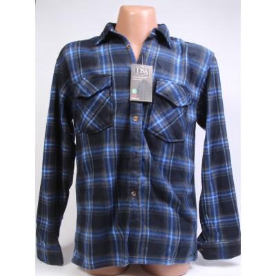 KS001 Рубашка мужская флис D&A