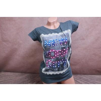 7087  Женская футболка Geso life