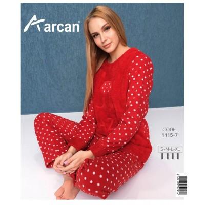 1115-7 Теплая пижама женская ARCAN