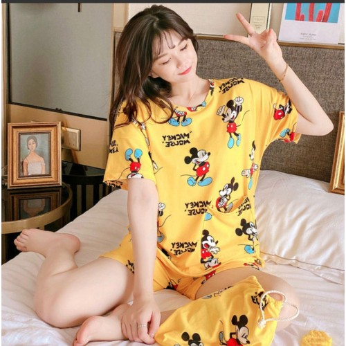 306 Пижама шорты майка Мики Маус